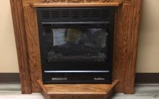 Buck Stove Model 1127 With Mantel