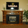 Buck Stove Media Console/Fireplace Combo