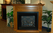 Empire Vent Free Fireplace & Mantle