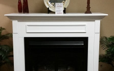 EMPIRE MANTLE WITH SUPERIOR LOG SET