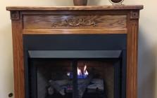 Buck Stove Vent Free Corner Fireplace