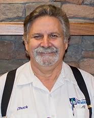 Chuck Hamilton : Supervisor of Appliance Installation